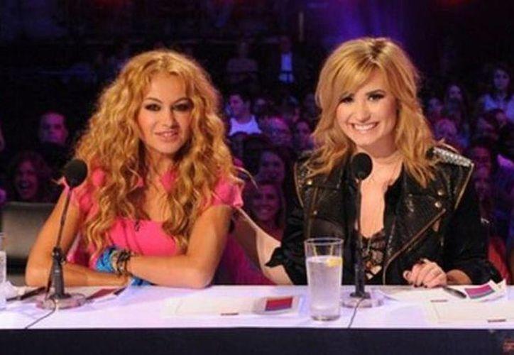 Paulina fue juez en el programa <i>The X Factor</i>  junto a Demi Lovato. (Agencias)
