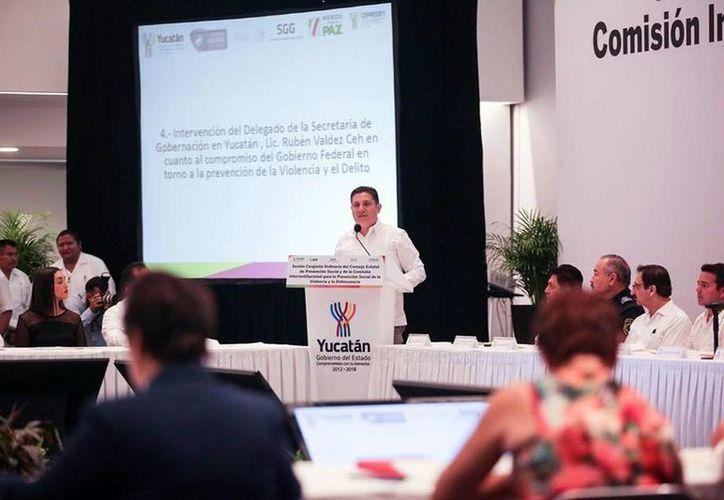 Rubén Valdez Ceh, delegado de la Secretaría de Gobernación. (Milenio Novedades)