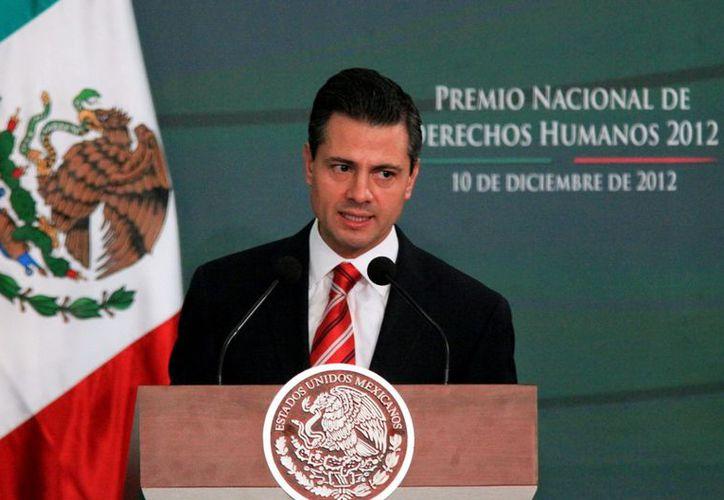 Peña Nieto declaró que el gobierno calderonista presumió mucho, pero sus resultados no fueron satisfactorios. (EEFORMA)