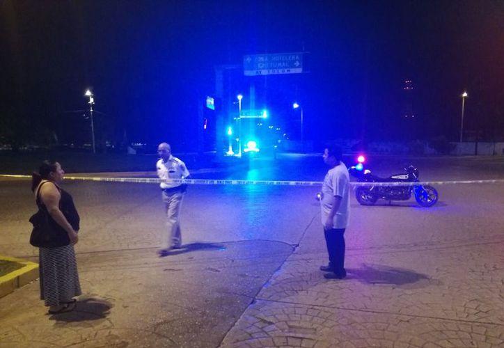 La Fiscalía tuvo aseguradas tres de las armas cortas utilizadas en el tiroteo del pasado jueves. (Foto: Contexto/SIPSE)