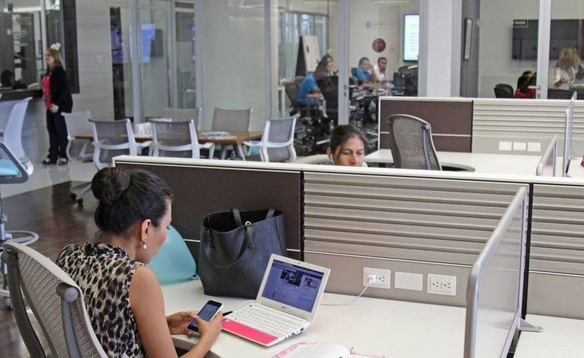 En el caso de IOS Offices es como llegar a casa. (Jesús Tijerina/SIPSE)
