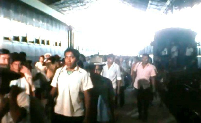 La estación de Mérida. (Captura de pantalla)