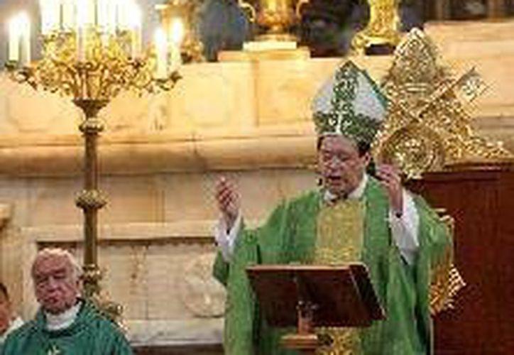 El Cardenal recomienda a los cristianos trabajadores que busquen el equilibrio entre el ser y el tener. (Agencias)