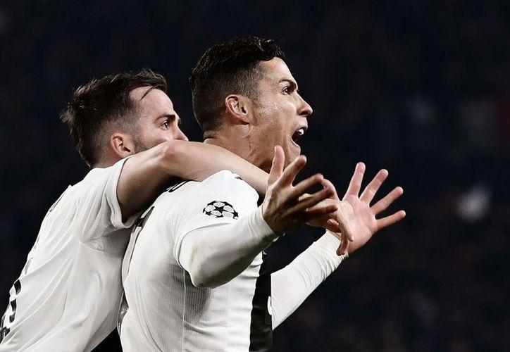 Cristiano Ronaldo tuvo otra actuación histórica en Champions League. (Foto: UEFA Champions League)