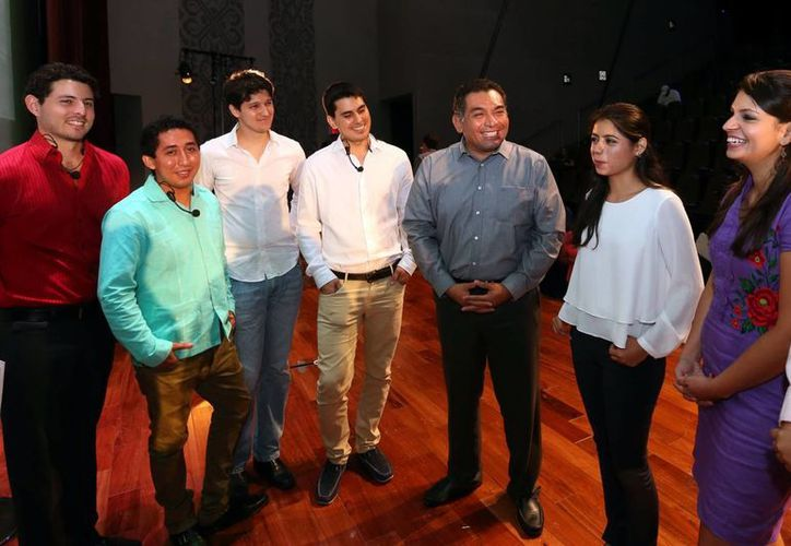El Secretario de Gobierno asistió al evento que se realizó en la sala Maya Max del Gran Museo del Mundo Maya. (Milenio Novedades)
