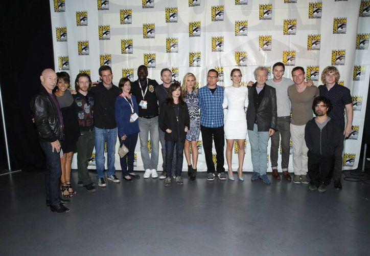 El elenco de X-Men. (Agencias)