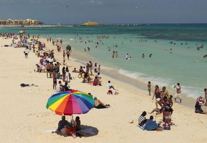 Se prevé para las semanas de Navidad y de Año Nuevo una ocupación completa en las más de 40 mil habitaciones de hotel en la Riviera Maya. (Cortesía/SIPSE)