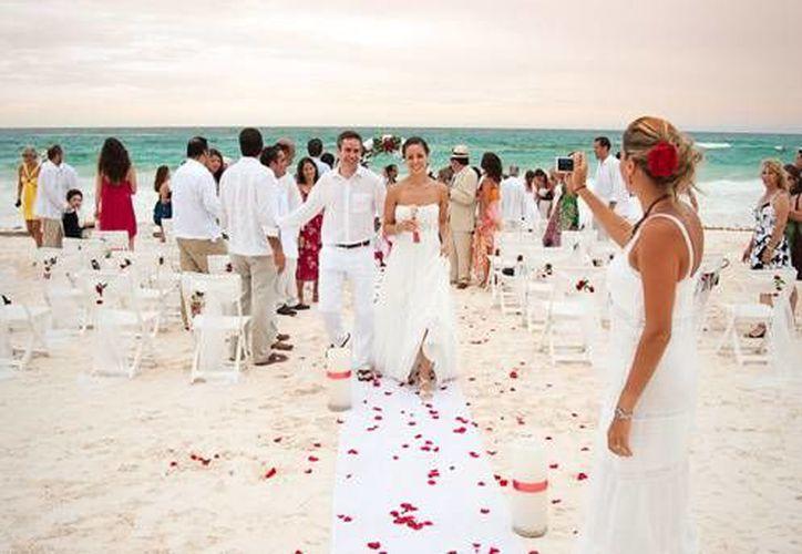 Las bodas generan un ingreso más para las comunas. (Contexto/Internet)