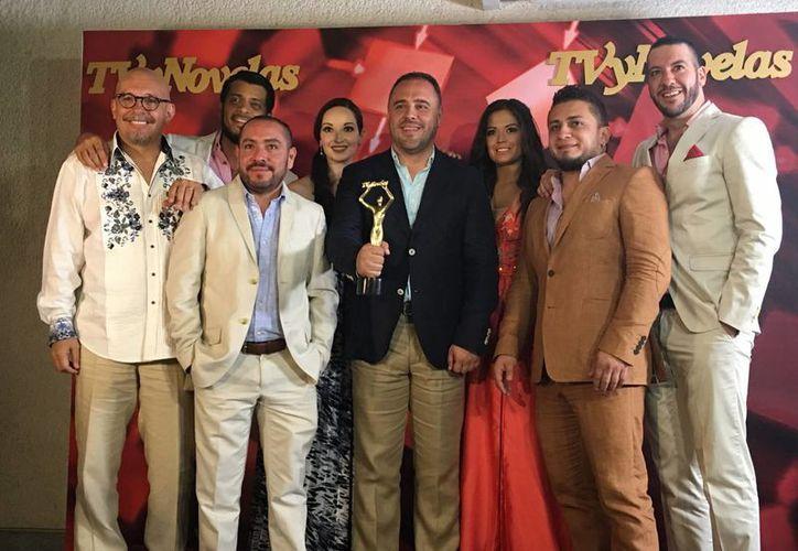 La telenovela  'Pasión y Poder' obtuvo los premios de Mejor telenovela, Mejor villano y el reconocimiento a Mejor actor coestelar. (Notimex)
