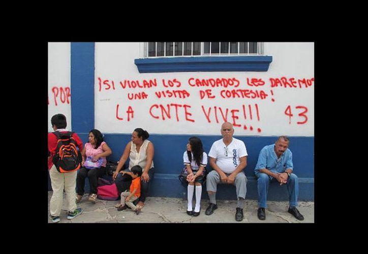 Algunas escuelas en Chiapas continúan cerradas. (Issa Maldonado/Milenio)