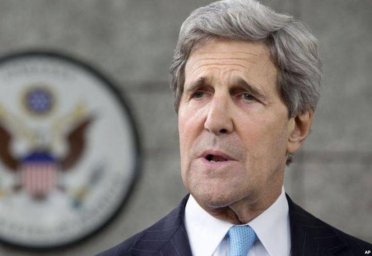 John Kerry, pidió al gobierno de Pakistán intensificar su lucha contra el terrorismo que amenazan la estabilidad y seguridad de la región y otros países. (Archivo/Agencias)