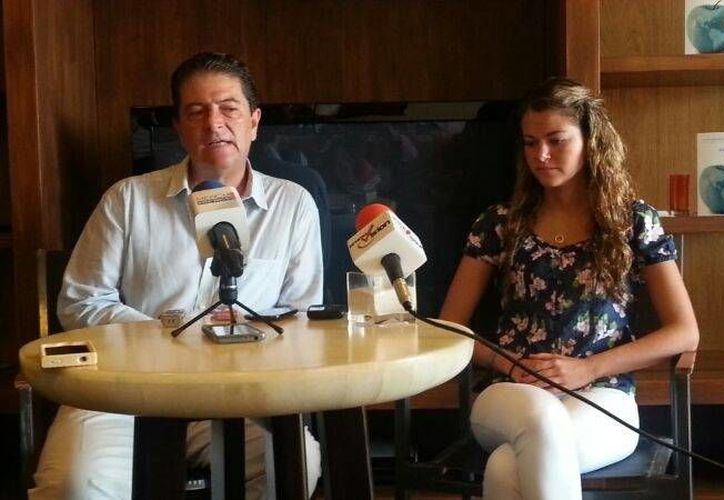 Anuncian la sexta edición del LAFS en Cancún (Renán Moguel/SIPSE).