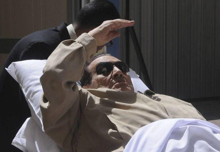 El expresidente fue trasladado al Hospital Militar de Maadi, donde permanece ingresado desde diciembre. (Archivo Agencias)