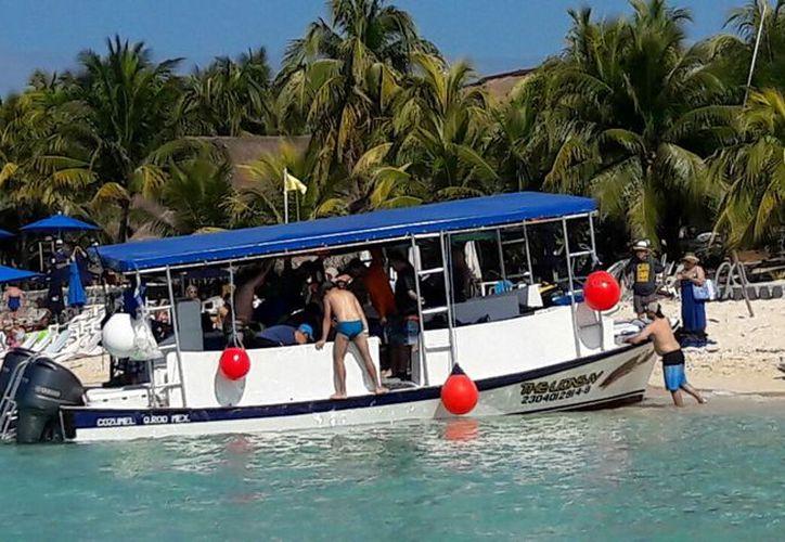 El extranjero se ahogó en las inmediaciones del club de playa Palancar. (Foto: Redacción/SIPSE)