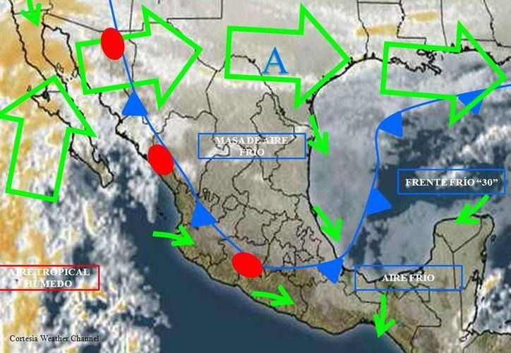 Descartan tormentas eléctricas en Benito Juárez. (Cortesía/Conagua)