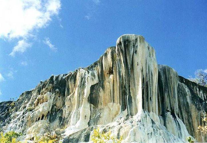 Lugar de famosas cascadas petrificadas que se formaron hace miles de años. (Contexto/Internet)