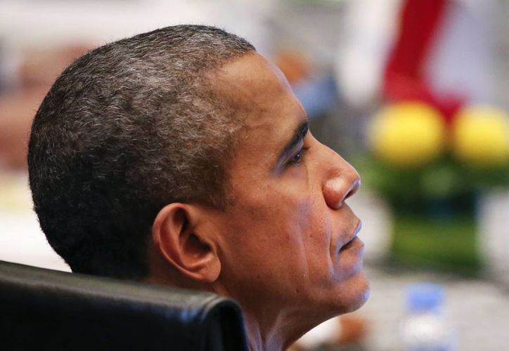 Obama prometió que su país y sus socios internacionales 'no cederán' en la lucha contra Estado Islámico. (Agencias)