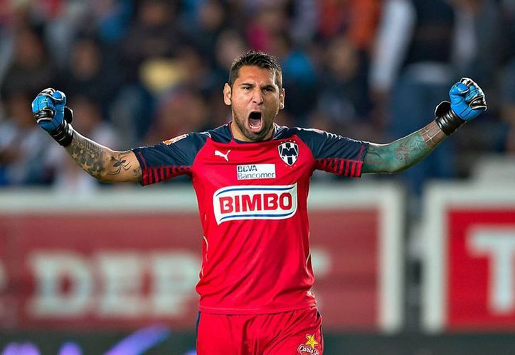 Jonathan Orozco, guardameta de Monterrey, tiene la esperanza de jugar en Italia. (futbolsapiens.com)