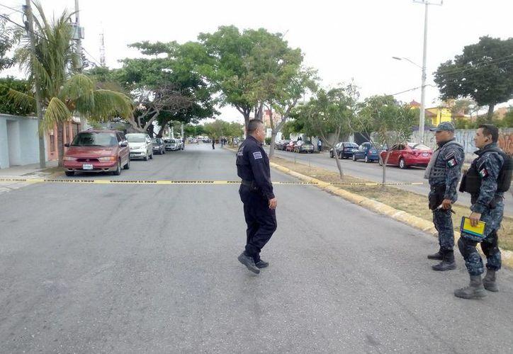 La ejecución se registró en la avenida Del Sol. (Redacción/SIPSE)