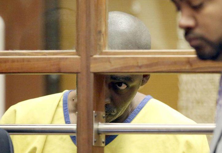 Michael Jace compareció en un juzgado de Los Ángeles por los cargos por el asesinato a tiros de su esposa el mes pasado. (Agencias/Archivo)