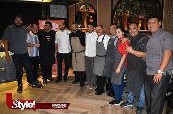 Cena maridaje con ocho chefs reconocidos