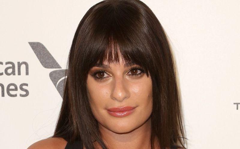 Lea Michele se comprometió con su novio Zandy Reich