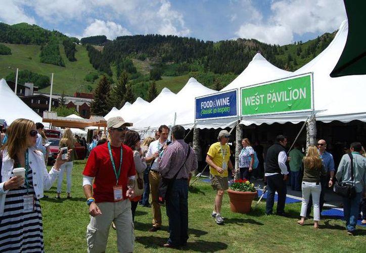 El Festival Food & Wine Classic,  de Aspen, Colorado, en Estados Unidos, fue el evento donde se expuso con éxito comida yucateca. (phaidon.com)