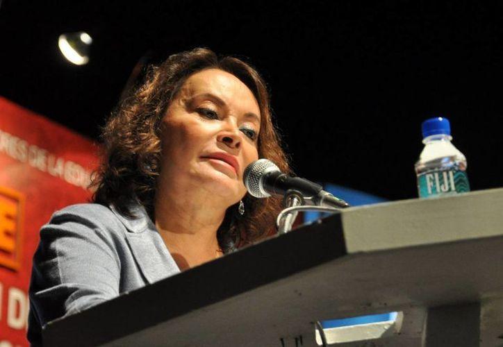 Elba Esther Gordillo Morales, dirigente magisterial. (Archivo)