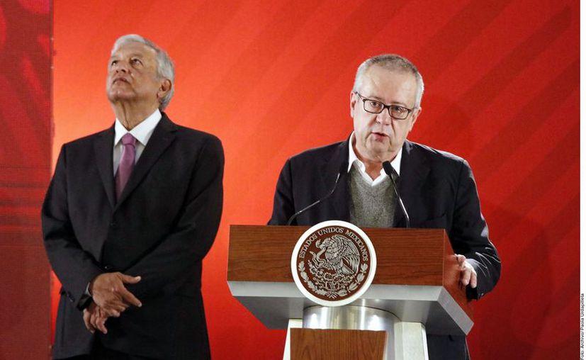 Carlos Urzúa abre las diferencias que tuvo como Secretario de Hacienda del presidente Andrés Manuel López Obrador. (Agencia Reforma)