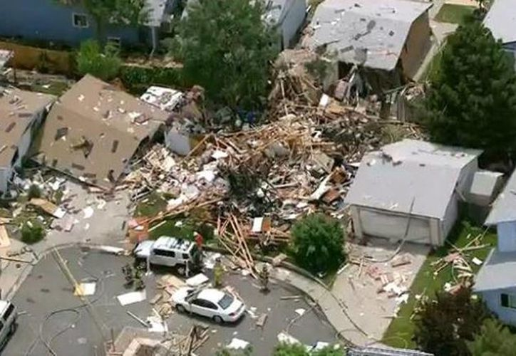 Según medios locales, unas siete u ocho viviendas más resultaron dañadas. (twitter.com/corybe)