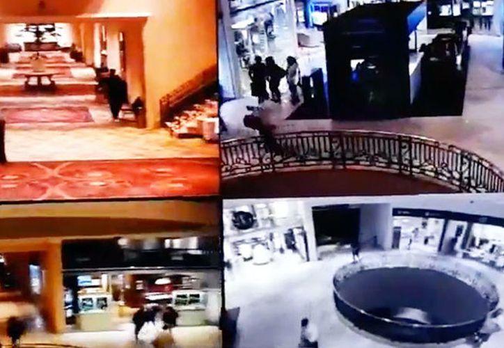 Banda de mexicanos asaltó una joyería ubicada en un hotel de Uruguay. (Cámaras seguridad)