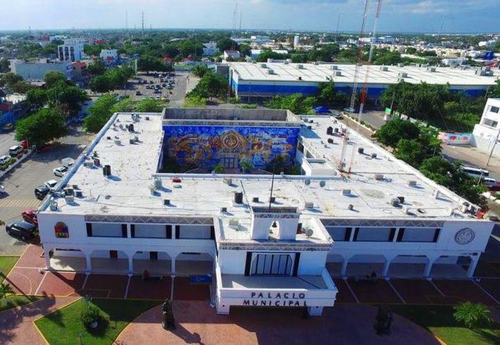 Proponen crear el nuevo museo en el actual Palacio Municipal de Solidaridad. (Daniel Pacheco)