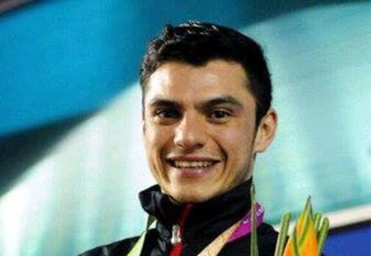 Yahel Castillo se llevó medalla de oro en en la final de trampolín de 3 metros de la Serie Mundial de Clavados  en Guadalajara, Jalisco, a mediados de mayo. (@yahel_castillo)