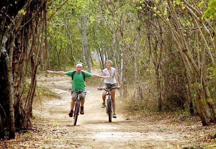 Bellas imágenes de visitas a Yucatán son subidas a las redes sociales. (Milenio Novedades)