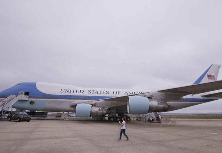 Llega el presidente de Estados Unidos, Donald Trump a Puerto Rico. (Nuevo día)