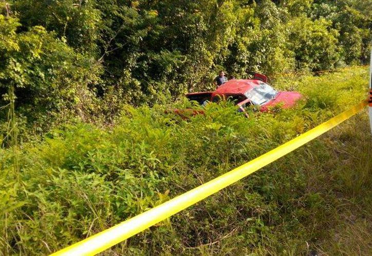 El número de accidentes en carretera federal han ido en aumento. (Javier Ortiz/SIPSE)