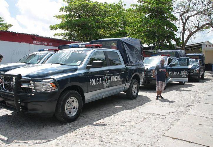 Se adquirieron las patrullas para reforzar la seguridad. (Julián Miranda/SIPSE)