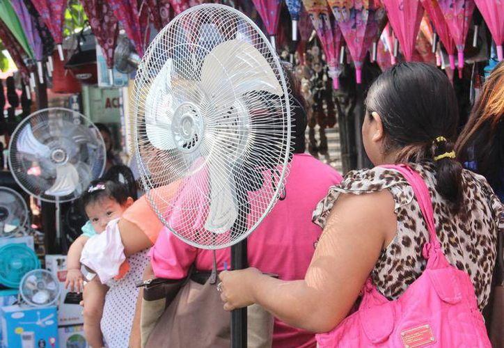 Meteorología Yucatán marcó 40.2 grados Celsius, con una sensación térmica máxima de 48 grados, a las 14 horas. (SIPSE)