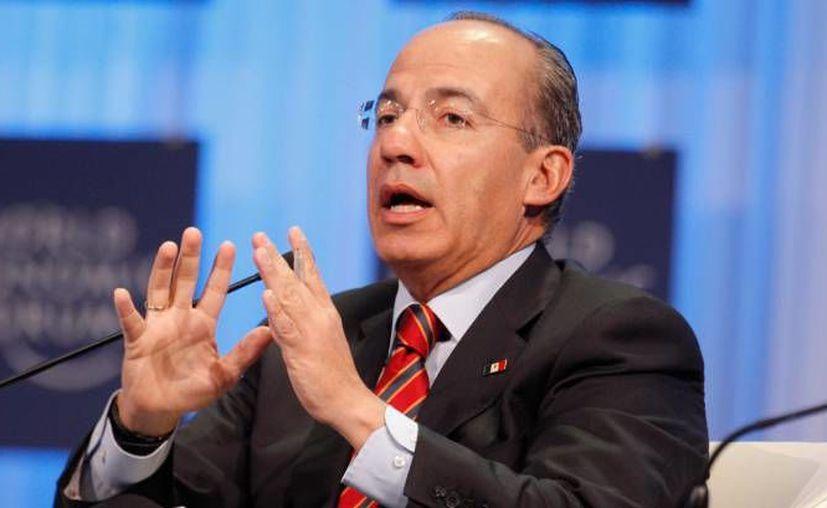 Calderón considera que las organización criminales 'se están apoderando de las instituciones'. (Agencias/Foto de archivo)