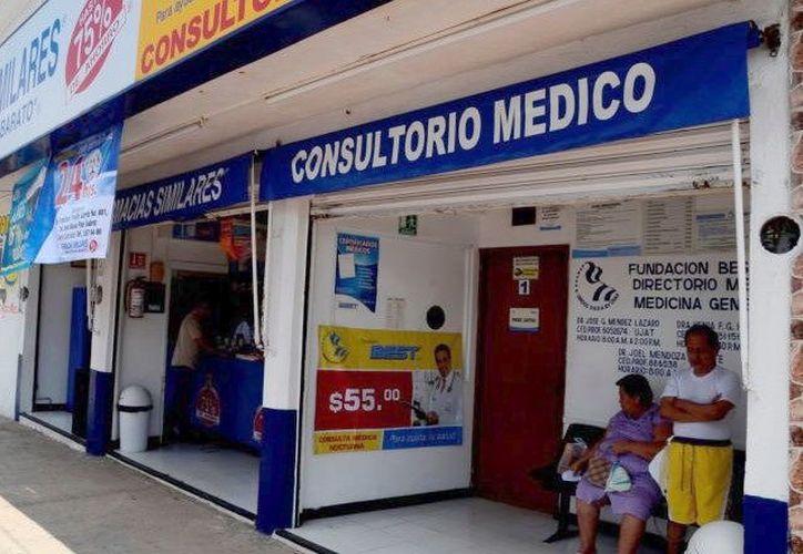 Cada vez más farmacias colocan consultorios, en colonias de Mérida. (Foto: Milenio Novedades)