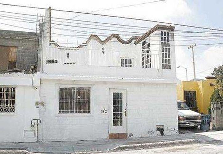 Esta es una de las casas que servía de sede a un centro de rehabilitación en Saltillo, Coahuila, que fue cateado. (Milenio)