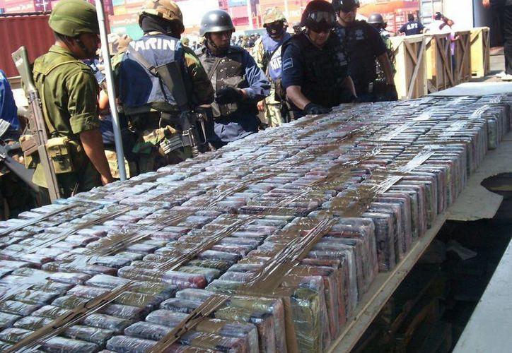 El cártel distribuye grandes cantidades de droga en los Estados Unidos. (EFE)