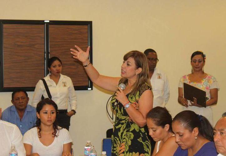Susana Hurtado Vallejo se despidió del Partido Revolucionario Institucional. (Redacción/SIPSE)