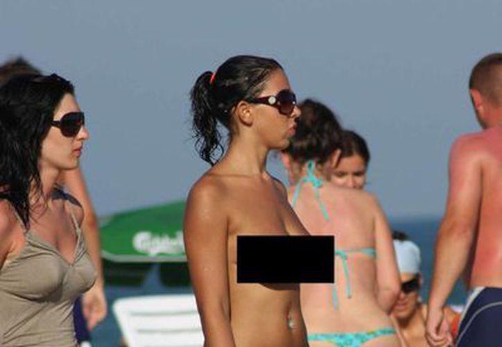 Algunos vinculan la paulatina desaparición del topless a un simple cambio en la moda francesa. (excelsior.com.mx)