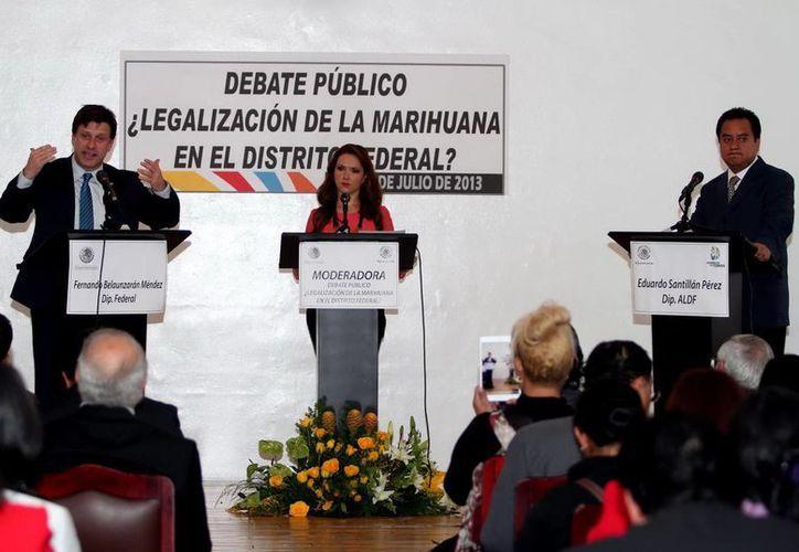 La Asamblea Legislativa anunció que del 12 y al 29 de agosto llevarán a cabo mesas de trabajo sobre drogas. (Archivo Notimex)