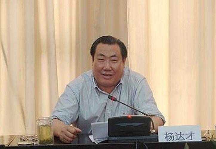 Yang Dacai es el tercer funcionarios público chino acusado de corrupción en los últimos tiempos. (wantchinatimes.com)