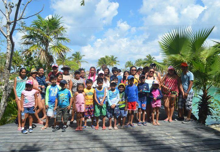 Familias se divirtieron en el Parque Natural Chankanaab y el parque ecoturístico Punta Sur.  Foto: Redacción
