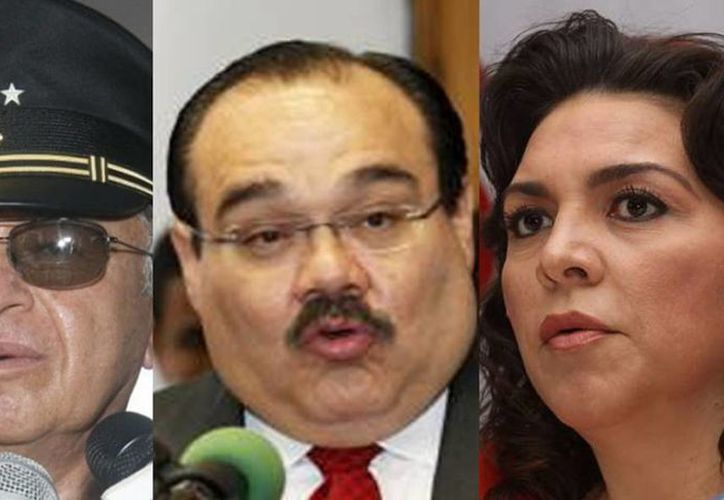Virgilio Daniel Méndez, Jorge Carlos Ramírez Marín e  Ivonne Ortega Pacheco están en los primeros tres lugares de la lista de diputados plurinominales. (Milenio Novedades)