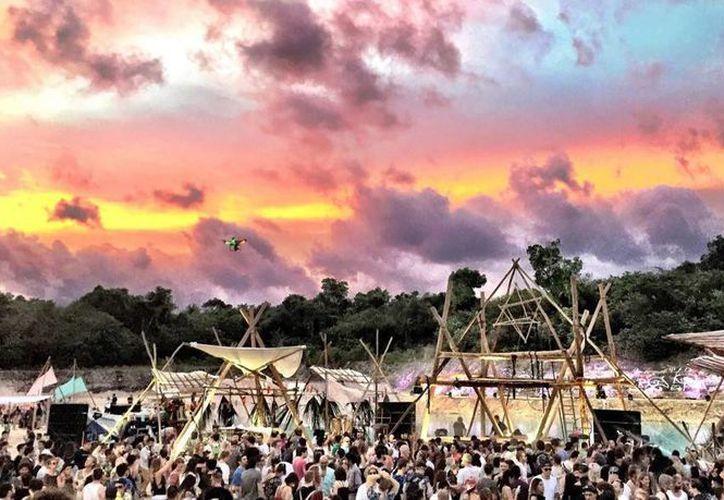 El escenario que albergará está fiesta el 8 de enero serán las ruinas y selvas mayas que yacen en Tulum. (Cortesía/dayzerofestival.com)