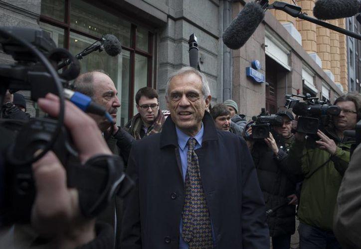 Michael Sarris dejó su cargo tras concluir las charlas del país con los acreedores internacionales. (Agencias)